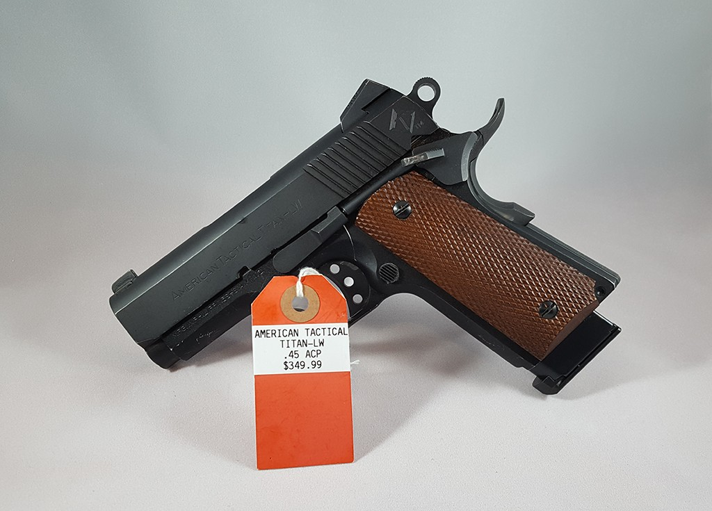 American Tactical Tital-LW 45ACP $349.99