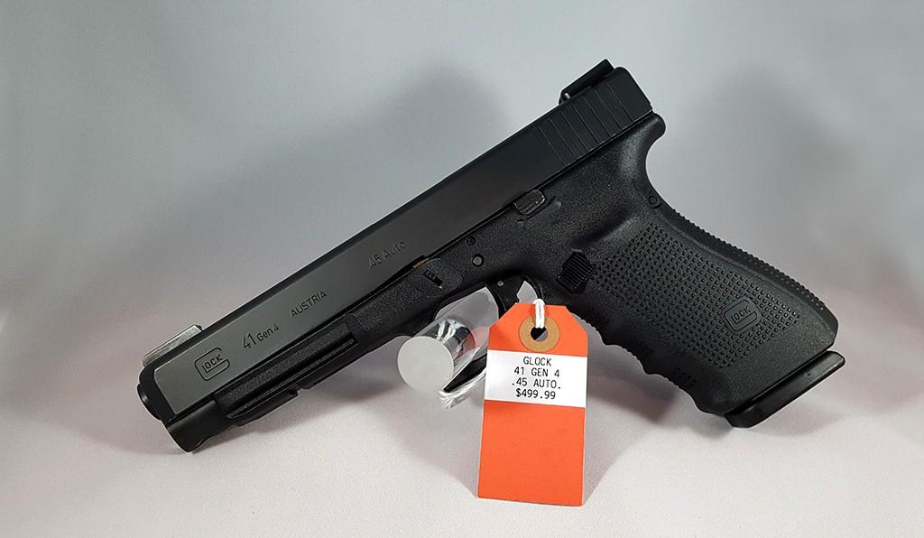 Glock 41 Gen4 45ACP $499.99