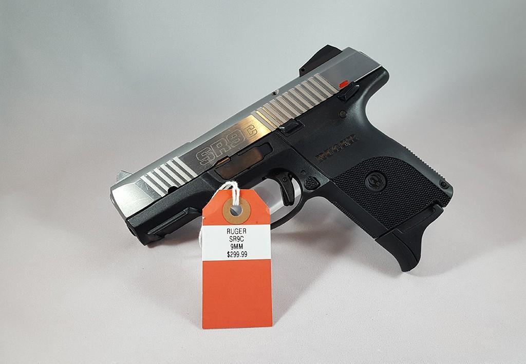 Ruger SR9C 9mm $299.99