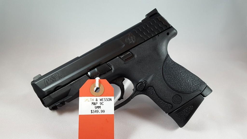 S&W M&P 9C 9mm $349.99