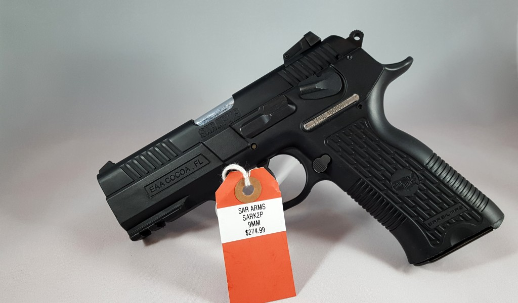 Sar Arms SARK2P 9mm $274.99