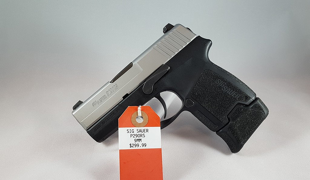 Sig Sauer P290RS 9mm $299.99